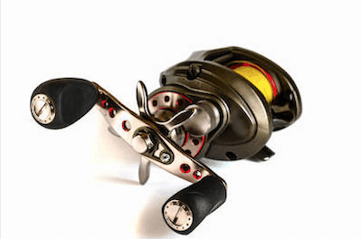 Photo of baitcasting reel