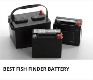 Best fish finder battery