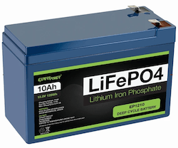 Photo of ExpertPower 12V 10Ah Lithium LiFePO4 Deep Cycle Rechargeable Battery