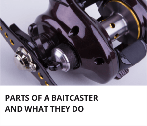 Baitcaster reel parts