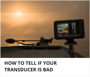 How to tell if transducer is bad