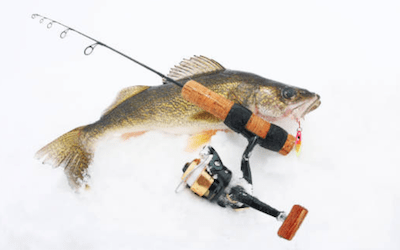 Best ice fishing rod and reel combo for walleye