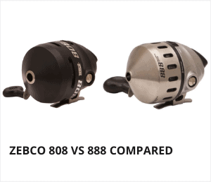 Zebco 808 vs 888