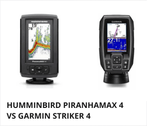 Humminbird piranhamax 4 vs garmin striker 4