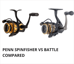 Penn spinfisher vs battle