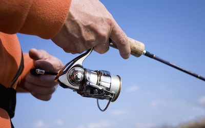 What are spinning reels used for