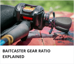 Baitcaster gear ratio