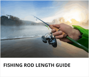 Fishing rod length guide