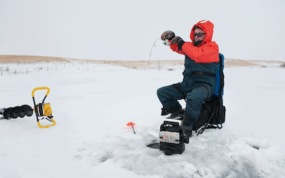 Ice fishing for beginners