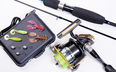 What lures to use with spinning rod