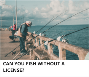 Fishing without a license