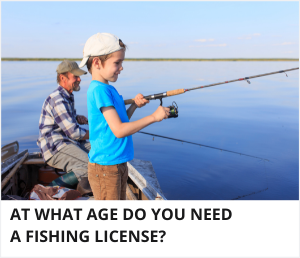 How old do you have to be to get a fishing license