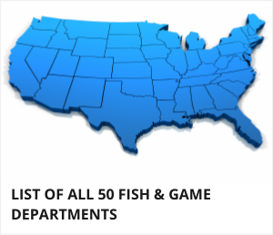 List of fish and game departments