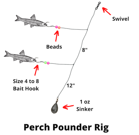 Perch pounder rig