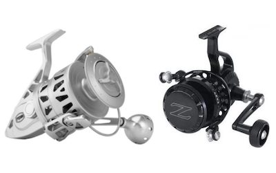 Spinning reels made in USA